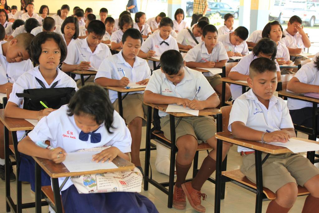 สอบปลายภาคเรียนประจำปีการศึกษา 2561